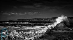 'The Swirl' Black White Photos, Black And White, Crashing Waves, Waterfall, Photography, Outdoor, Outdoors, Blanco Y Negro, Photograph