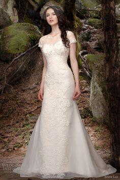 jenny-lee-bridal-spring-2013-wedding-dresses-short-sleeve-gown