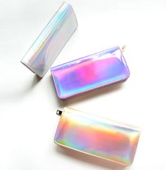Holographic Long Wallet via Pastel House. Click on the image to see more!