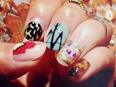 mix #nail #polish