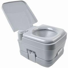 2.8 Gallon 10L Camping Toilet