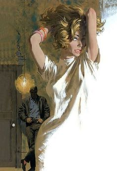 The true master Robert McGinnis made this one.