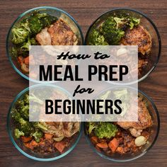 How to Meal Prep for Beginners - A super simple starting place for you to learn meal prep strategies! - ProjectMealPlan.com