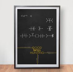 Good Will Hunting Minimalist Movie Poster Film Vintage Art Poster Retro Print  in Art, Posters, Contemporary (1980-Now) | eBay!