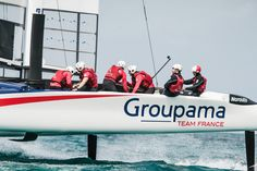 America's Cup - The Crew Sail Racing, Team Wear, Motor Boats, View Source, Sailing, France, America's Cup, Sports, Water