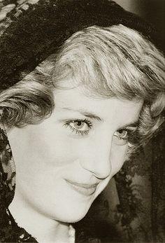 Princess Diana. Italy 1985 Such beauty.