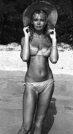Brigitte Anne-Marie Bardot is a French animal rights activist and a former fashion model, actress and singer. In her early life, Bardot was . Bridget Bardot, Brigitte Bardot Bikini, Divas, Star Francaise, And God Created Woman, French Actress, The Bikini, Bikini Beach, Pink Bikini