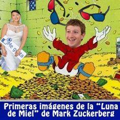 El pasado sábado, un día después de que Facebook saliera a bolsa, nuestro amigo Mark Zuckerberg se casó por sorpresa con su novia Priscilla Chan. Como en Webpositer como somos buenos amigos de Mark, nos ha enviado en exclusiva las priméras imágenes de su Luna de Miel.