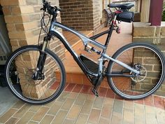 Kepler's Bafang mid-drive conversion.  This is what I would do to convert my 29er mountain bike...