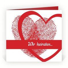 1000+ images about Hochzeitseinladungen on Pinterest  Hochzeit, Heart ...