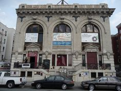 This is by far the oldest building I've yet written about. From a public bathhouse to an arts center: http://brooklyn-spaces.com/2013/08/brooklyn-lyceum/