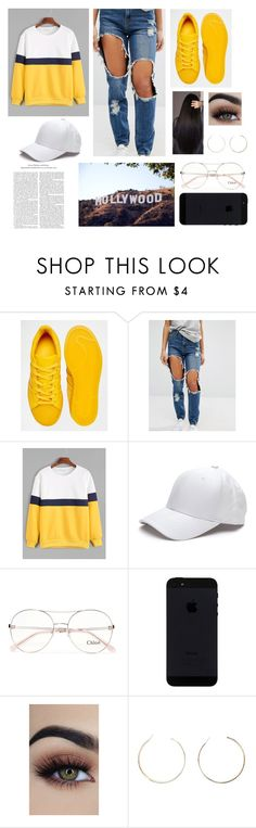 """""""Set 552"""" by juleenm ❤ liked on Polyvore featuring adidas Originals, Missguided, Chloé and Forever 21"""