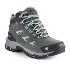 Hi-Tec Logan Mid Waterproof Women's Hiking Boots, Size: medium (6.5), Grey