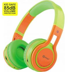 The KB-2600 Kid-Safe Headphones fold up for easy transport and storage anywhere you want. They feature sound isolation that helps clarify audio, a ferrite