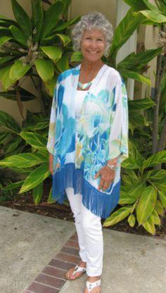 Fringed Soft Blues Kimono Jacket 1.png