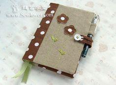 PAP - capa de caderno em patchwork