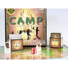 Camping boardgame - what a great idea! > Education Outdoors // Camp Board Game for Camp Brodsky during indoor recess