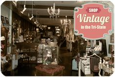 A guide to where you should be shopping for vintage in Cincinnati and the Tri-State!