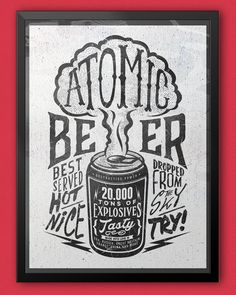 Atomic Beer on Behance