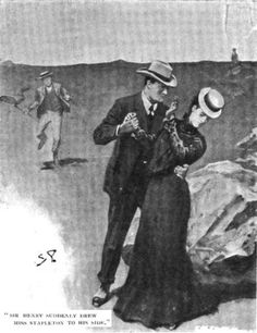 Sherlock Holmes The Hound of the Baskervilles Sir Henry suddenly drew Miss Stapleton to his side