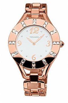 37f4bbf4da5 Relógio Feminino Technos Elegance Elos Trend GL20GX 4B