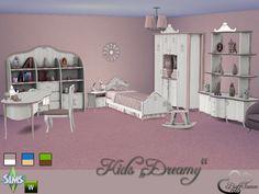 Dreamy Kidsroom by BuffSumm at TSR • Sims 4 Updates