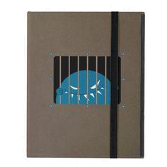 Evil Monster Kingpin Jailed Strap Folio iPad Case $42.95 #ipad #ipadcase #cases #gothic