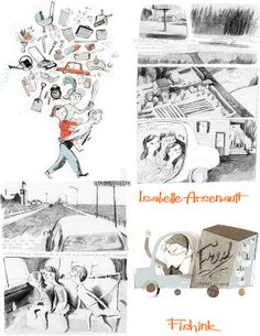 Fishinkblog 7399 Isabelle Arsenault 14 Check out my blog ramblings and arty chat here www.fishinkblog.w... and my stationery here www.fishink.co.uk , illustration here www.fishink.etsy.com and here carbonmade.com/.... Happy Pinning ! :)