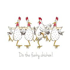 Chicken Card – Girls Just Wanna Have Fun Greeting Card – Birthday Card, For Her, Galentines Day Card Carte de poulet Girls Just want à [. Chicken Humor, Chicken Art, Funny Chicken, Chicken Signs, Watercolor Artwork, Watercolor Cards, Ostern Cartoon, Doodle Doo, Chickens And Roosters