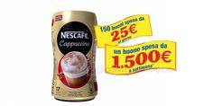 Nescafé Cappuccino: vinci 150 buoni spesa da 25€ al giorno - http://www.omaggiomania.com/concorsi-a-premi/nescafe-cappuccino-chiama-e-vinci/