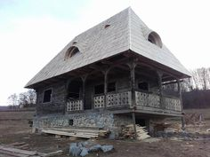 Traditional House, Romania, House Plans, Moldova, House Styles, Perspective, Drawings, Home Decor, Houses