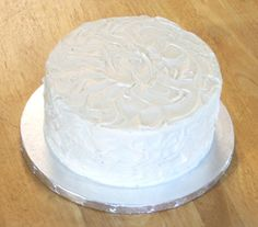 Traditional Buttercream Frosting recipe used by a professional cake decorator.