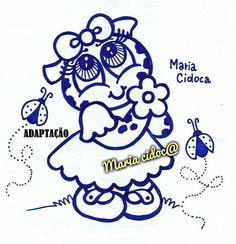 sapinha com flor - Maria Cidoca