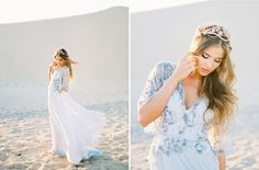 White Sand Elopement Inspiration with Whimsical Boho Details Pre Wedding Photoshoot, Elopement Inspiration, Green Wedding Shoes, Wedding Engagement, Designer Dresses, Whimsical, Floral Design, Weddings, Bride