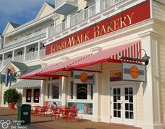 ~ The Boardwalk Bakery ~  Crazy delicious treats here.  I love the Smore's Cupcake and Cheesecake Brownie.