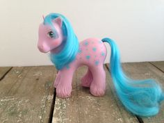 Vintage G1 My Little Pony Family Flowers Bright by ThePinkRoom