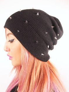 Spike Beanie...I can't wait to where this :)