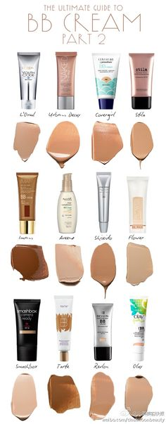 The Ultimate Guide To BB Creams: Part 2 The Ultimate Guide to BB Creams, Part 2 Best for Acne-Prone Skin: Aveeno Clear Complexion BB Cream; one shade. This balm provides coverage for problem skin with light-reflecting minerals that brighten the complexi Love Makeup, Makeup Tips, Makeup Looks, Makeup Products, Cheap Makeup, Beauty Products, All Things Beauty, Beauty Make Up, Beauty Balm