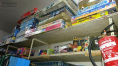 MADELMAN BLOG SHOW: Almacén de juguetes antiguos