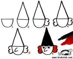 Qui dit halloween dit vacances dont il va falloir occuper les enfants, voici une petite sorcière toute mignonne et très facile à faire ! Il vous faut : - Une feuille blanche - Une feuille noir ou d'une autre couleur si vous préférez - Une agrafeuse -...