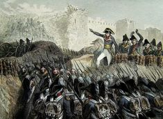 Bonaparte at the Siege of Acre, 1799. Bonaparte wanted to capture the key port of Acre following his invasion of Egypt. He hoped to incite a Syrian rebellion against the Ottomans and threaten British rule in India. However after the Siege of Jaffa the defenders of the citadel were even more fierce.