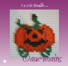 Halloween hama perler by aux4mains