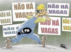 Desemprego chega a 6,9%???... As estatísticas do desemprego no Brasil estão às avessas!... O Brasil tem 14 milhões de famílias, 50 milhões de pessoas, 25% da população a receber o Bolsa Família. São entre 20 a 25 milhões de desempregados que não constam das estatísticas de desemprego, ou seja, é como se não existissem como população ativa e não necessitassem de emprego.