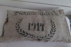Kissen - Vintage Leinenkissen - ein Designerstück von Vintage-Linen-and-Wool bei DaWanda