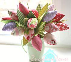 Тюльпаны и подушка | Домик маленького Цукиня