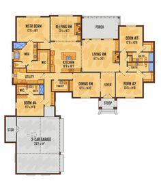 249 Best Square House Plans Images