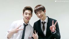 Twitter / 13elieveSG: [HD PIC] 140330 SMTownGlobal Twitter Update - SJM Henry and SJM Zhoumi at 'SBS Star King