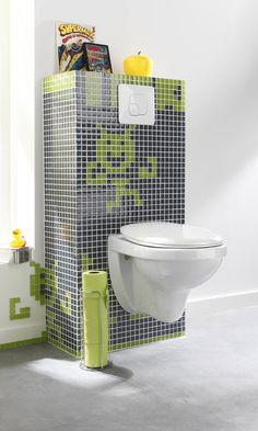 1000 images about wc styles et tendances on pinterest ps toilets and coins. Black Bedroom Furniture Sets. Home Design Ideas