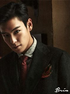 T.O.P. from Bigbang. For me- indisputably number 1. He proved that he doesn't have to take off his shirt to become the most sexy man in the world. Respect! (But I'm not complaining that eventually he showed his abs in Tazza 2)
