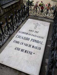 Pondal's Tomb, S. Amaro Cemetery, Corunha